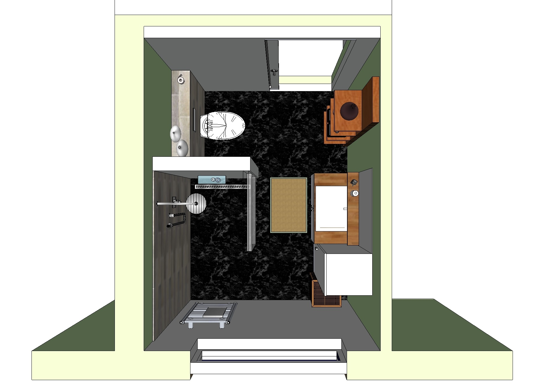 Badkamer Wateringen – DWI Design
